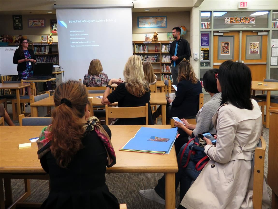 Coronado Hosting Language Educators