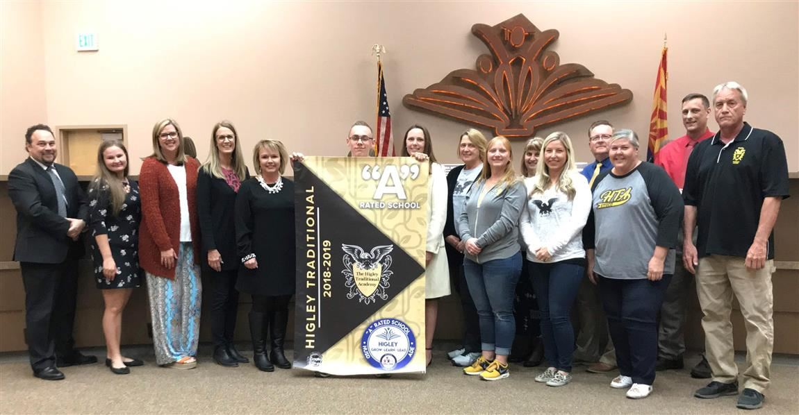 "HTA receives ""A"" rating banner"