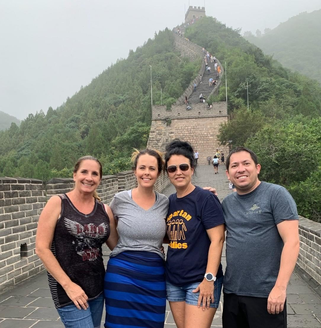 HUSD Teachers in China