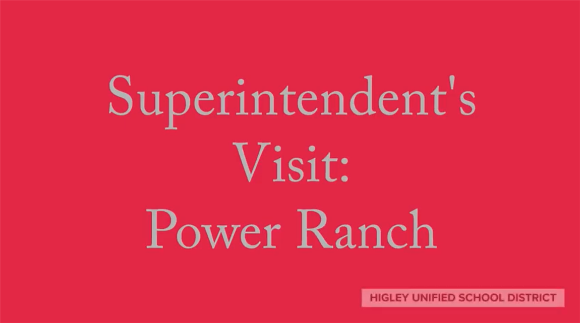 Superintendents visit Power Ranch