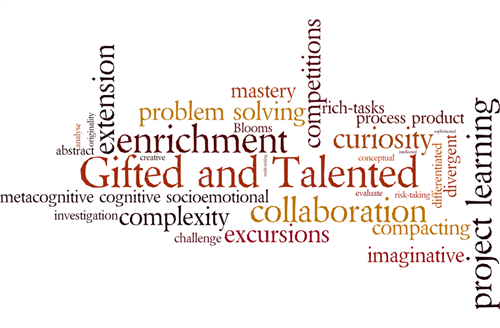 Gifted & Talented Characteristics