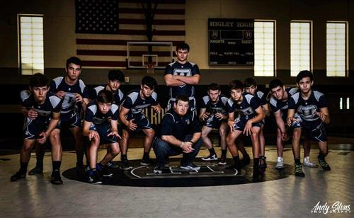 HHS Wrestling Team picture 2018