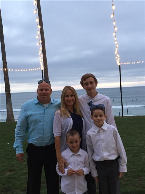 Picture of Mrs. Gossard and Family