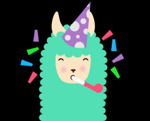 Party Animal Llama