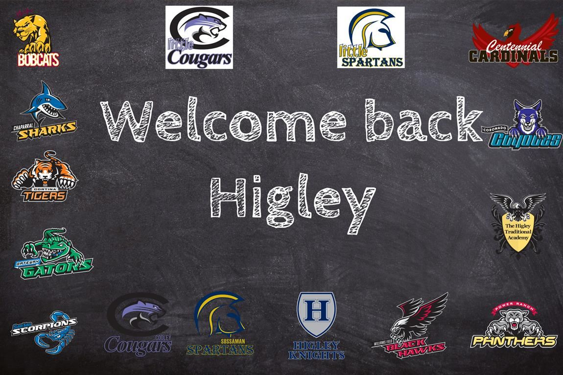 Welcome back Higley