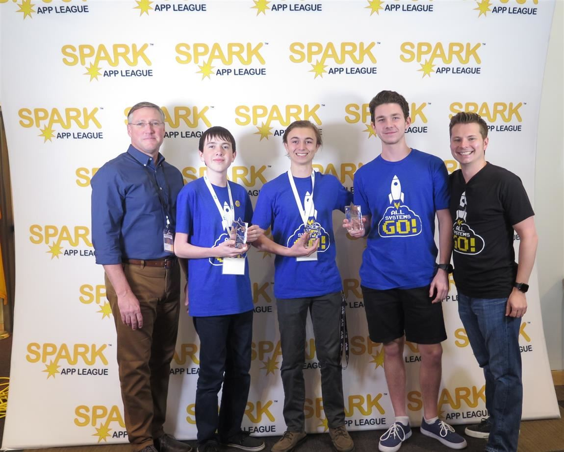Higley High students win Gilbert SPARK App Game Jam competition