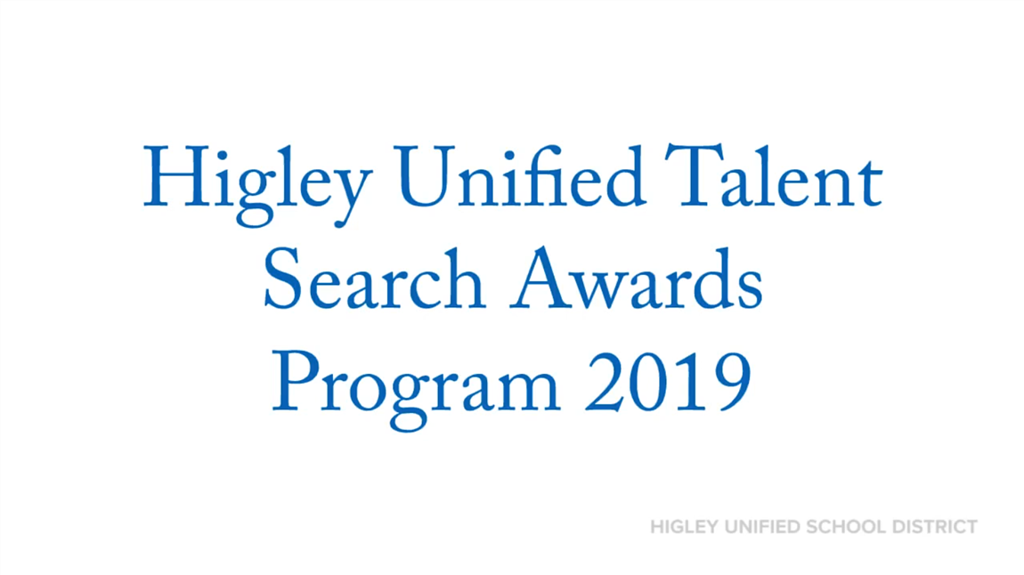 Higley Unified Talent Search Awards Program 2019