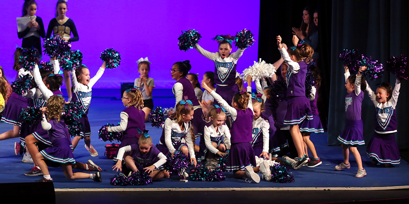 Higley Youth Sports League hosts cheer competition